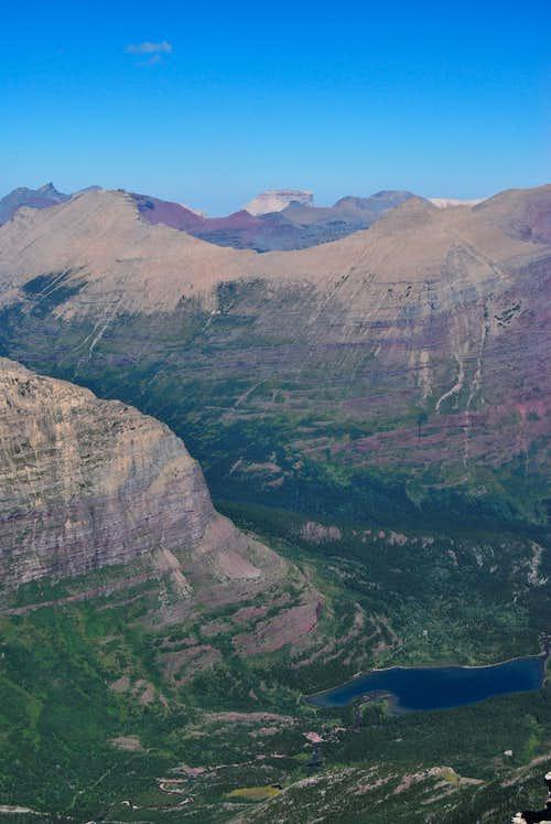 Mount Grinnell NE summit view