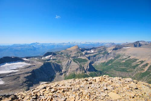 Mount Grinnell NW summit view