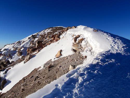 The Summit of Orizaba