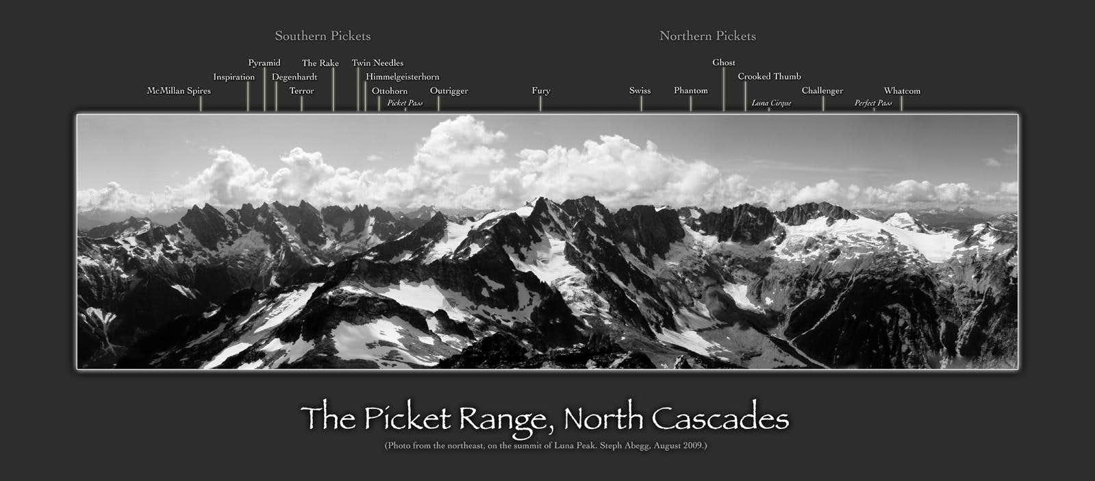 Labeled Panoramas WwwsTePhaBeGgcom - Olympics mountain range map of us