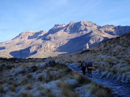 Iztaccihuatl mountain in Puebla Stock Photo, Royalty Free Image ...