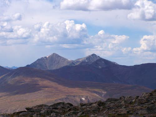 Grays and Torreys Peaks