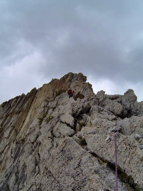 N.W. Ridge North Peak