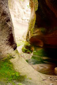 Tlaxco Slot Canyon