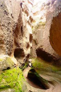 Tlaxco Slot Canyon