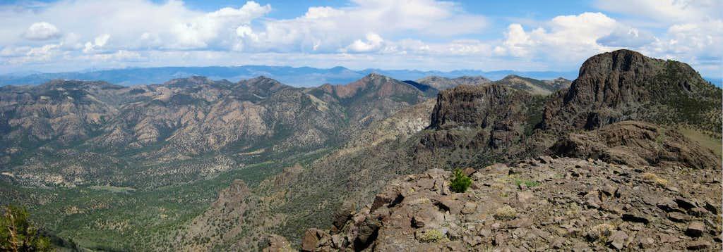 NW View across Volcanic Cauldron