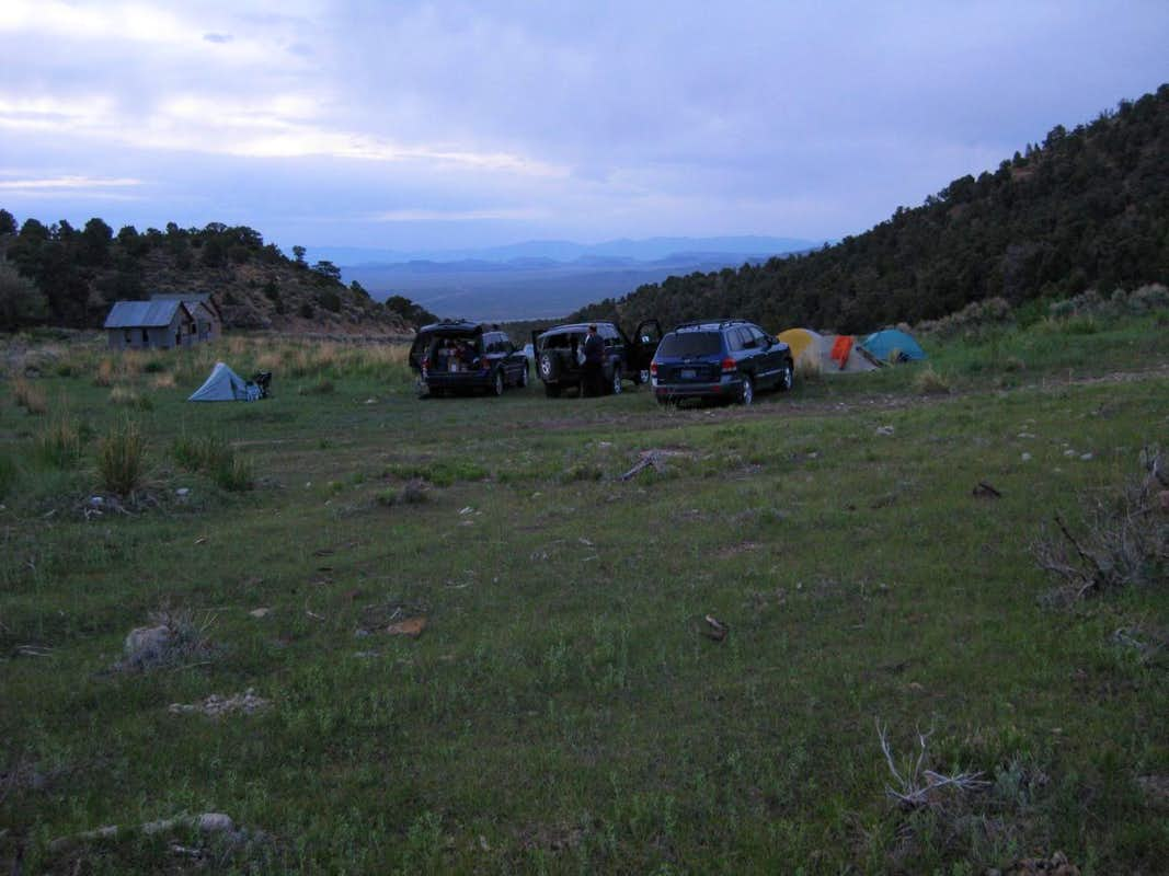 Morey Town Camp for NE Hike