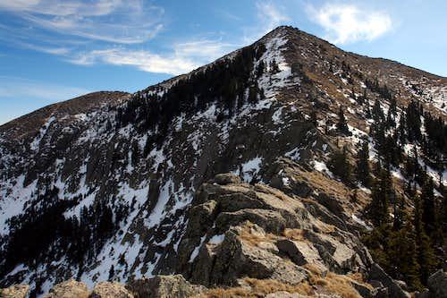 Sierra Blanca's N Ridge