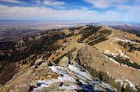 Sierra Blanca Peak, summit view north
