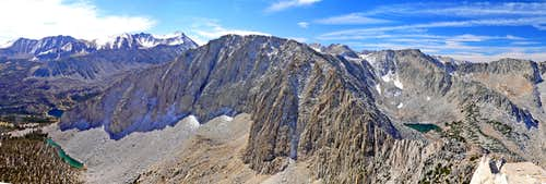 Patricia Peak southwest pano