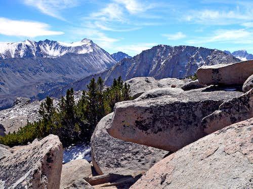 Mt. Morgan and Pointless Peak from Patricia Peak
