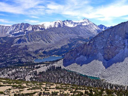 Mt. Morgan from Patricia Peak southeast slope