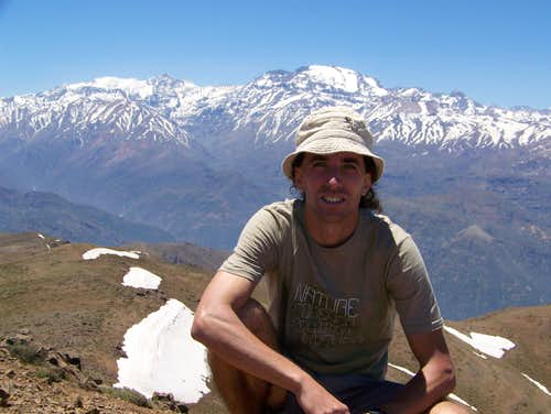 On the summit of Cerro Provincia