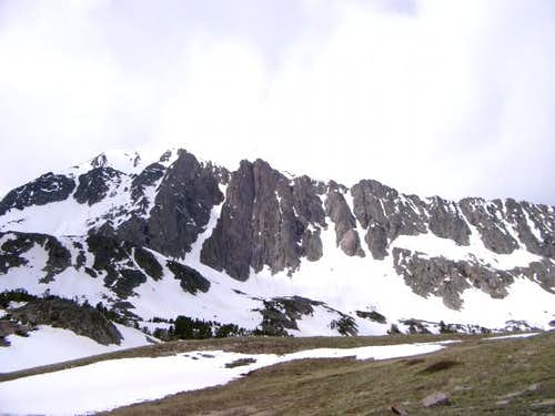 Koch Peak from the east.