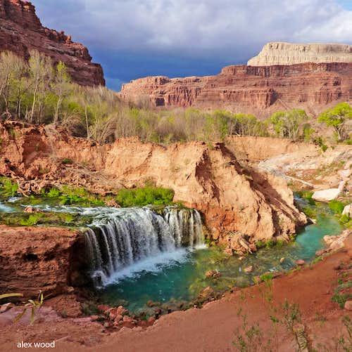 Navajo Falls Panorama