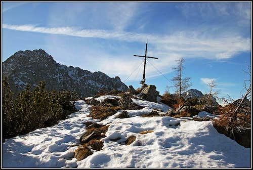 The summit of Rjautza/Rjavca