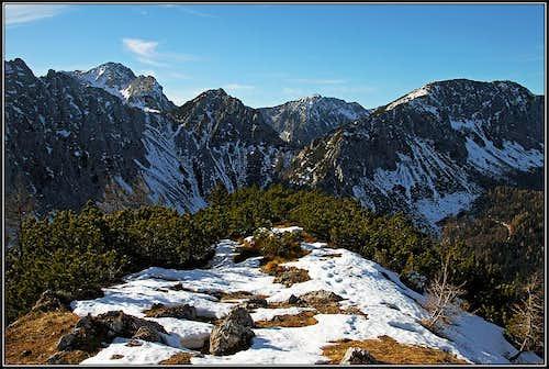 Mountains above Bodental/Poden
