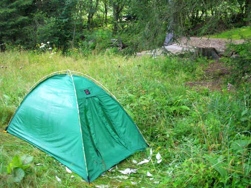 My camp ...