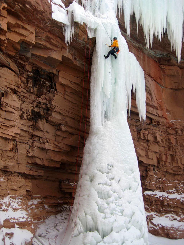 Haflin Canyon Ice
