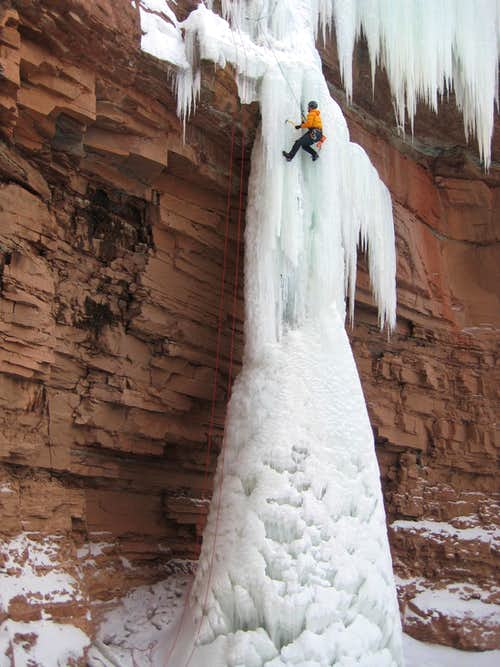 Haflin Canyon Ice