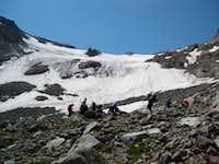 Approching Inner Glacier