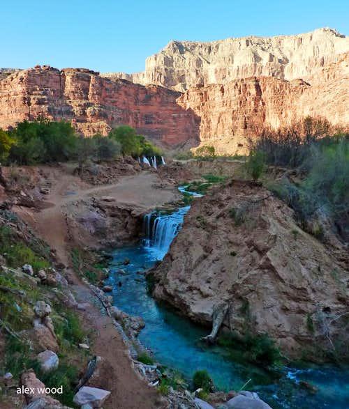 Navajo Falls and New Navajo Falls