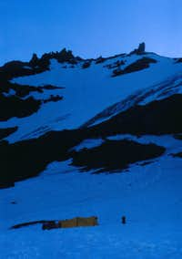 High Camp Sitkum Glacier