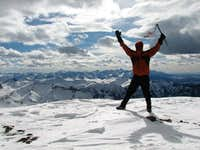 Wetterhorn's Summit April 1, 2007