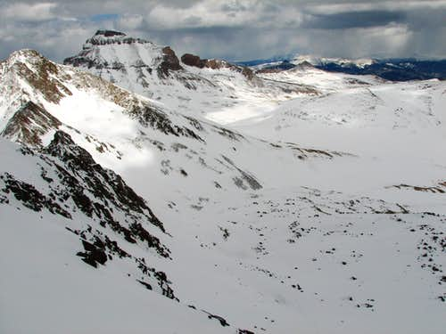 Uncompahgre from Mt. Wetterhorn\'s Summit