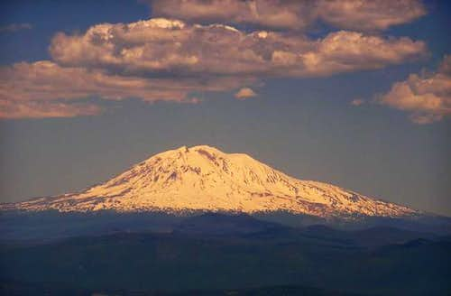 Mt. Adams from the summit.
