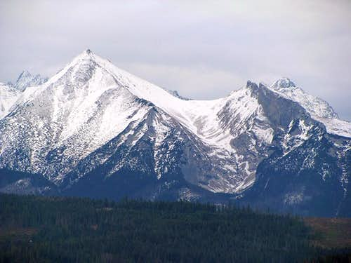 Part of Tatry Bielskie