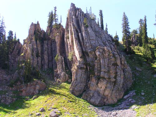 wild rock formation