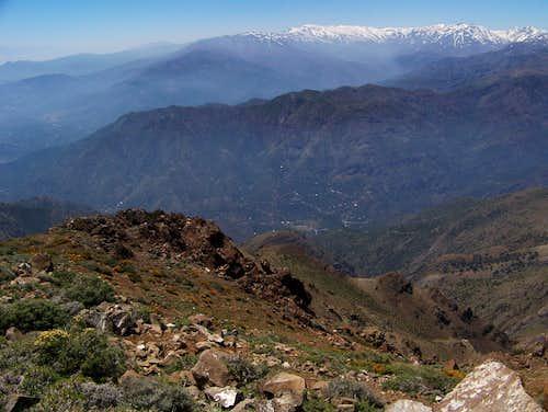 On the north ridge of Cerro Provincia