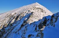 An Icy Blwch Main on Snowdon