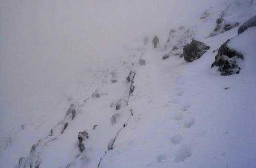 PYG track up Snowdon