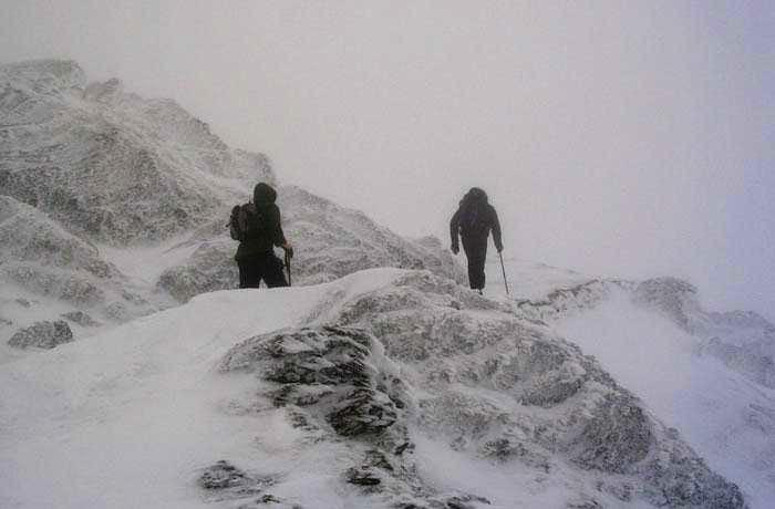 Approaching  Summit of Snowdon