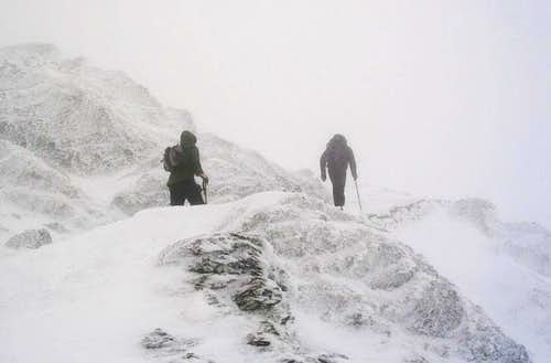 Approaching  Summit of Snowdon