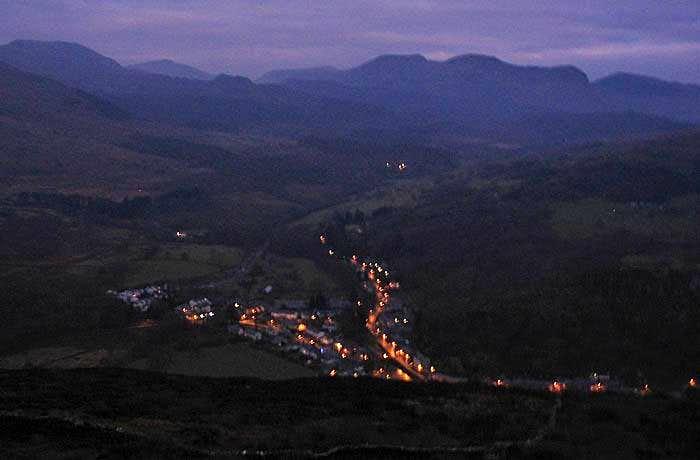 Early Christmas Morning, Beddgelert, Snowdonia