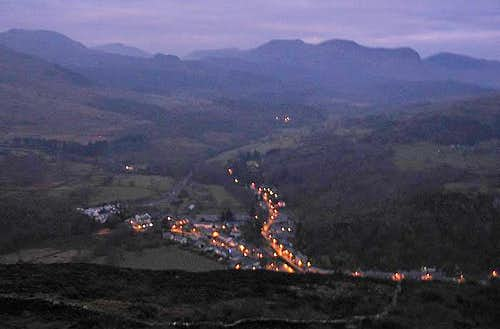 Early Christmas Morning, Beddgelert, Snowdonia
