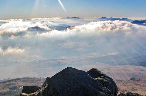 From the summit of Moel Siabod