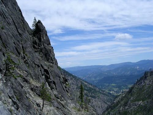 View of Leavenworth from...