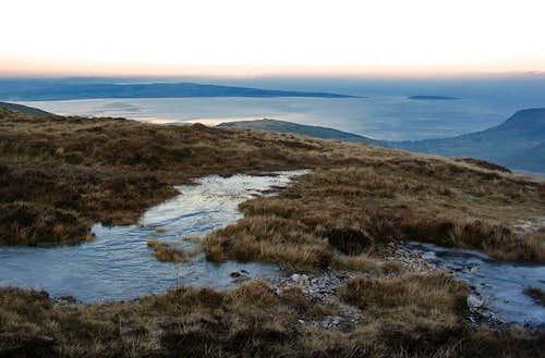An icy North Carneddau