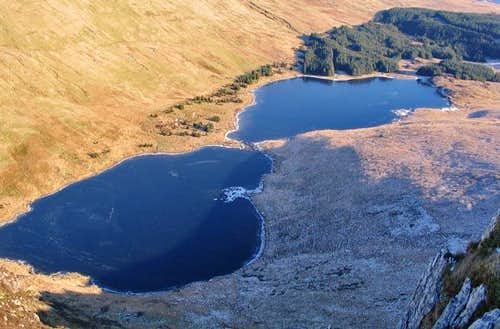 Lakes near Moel Siabod