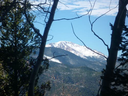 Pikes Peak from MacNiel Trail