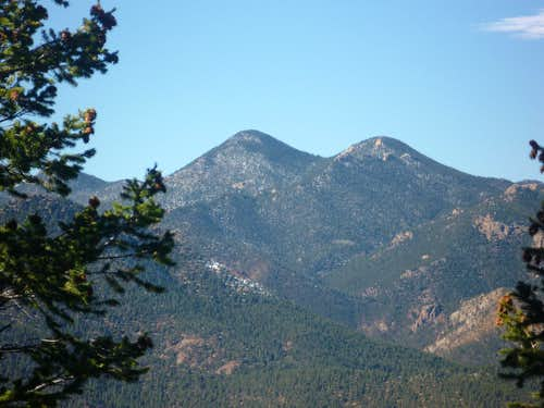 Mount Garfield & Mount Arthur