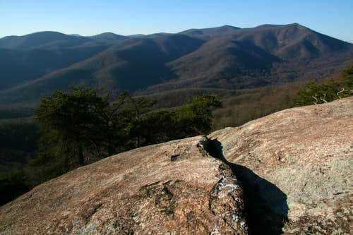 Marys Rock from Oventop Mountain