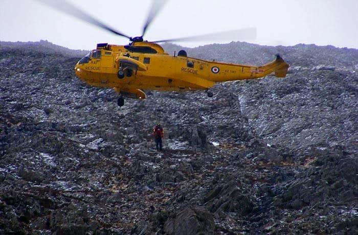 Mountain Rescue on Snowdon