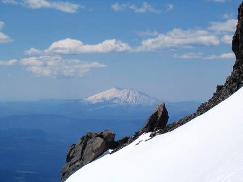 View of Mt. St. Helens from...