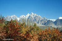 Passu Cathedral 6106-M during Autumn