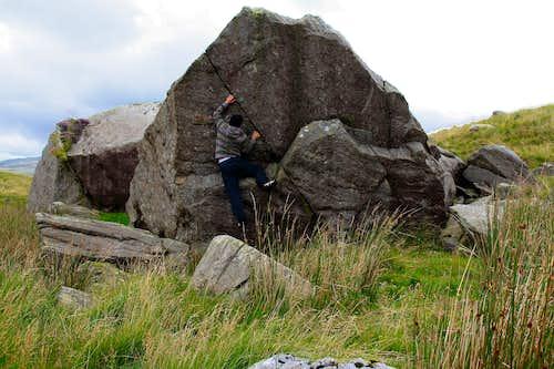 Cwm Dyli Boulders